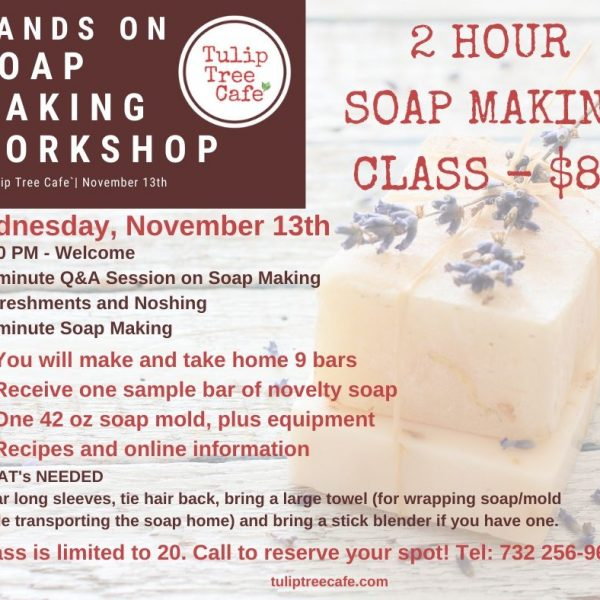 Hands On Soap Making Workshop